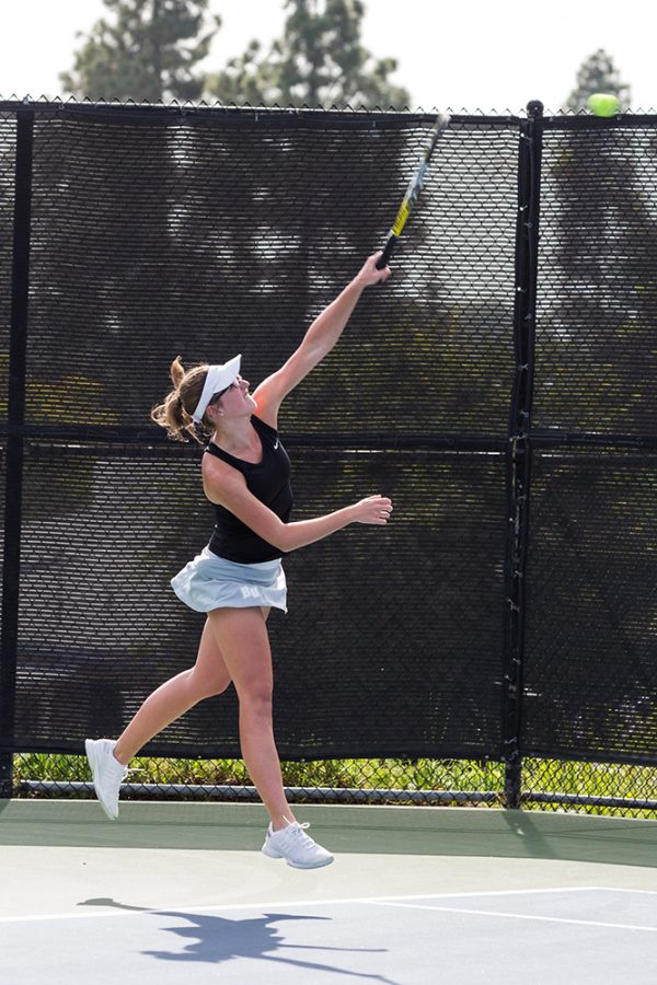 Tennis moves further through the PacWest tourney
