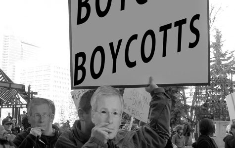 Protest pointless boycotts