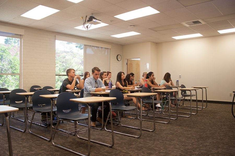 Biola is considering the education model and is currently discussing the implementation of a trimester system, according to Freddy Cardoza, department chair of Christian education.   Quincy Liao/THE CHIMES [file photo]