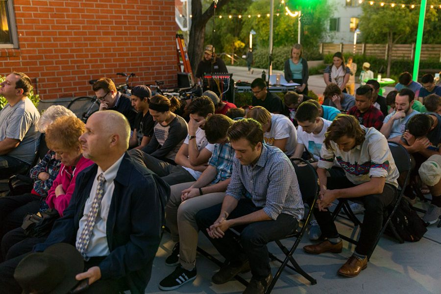 Past and present residents gathered to remember the tight-knit community in Emerson, commonly expressing that students entered as boys and left the hall as men. | Tomber Su/THE CHIMES