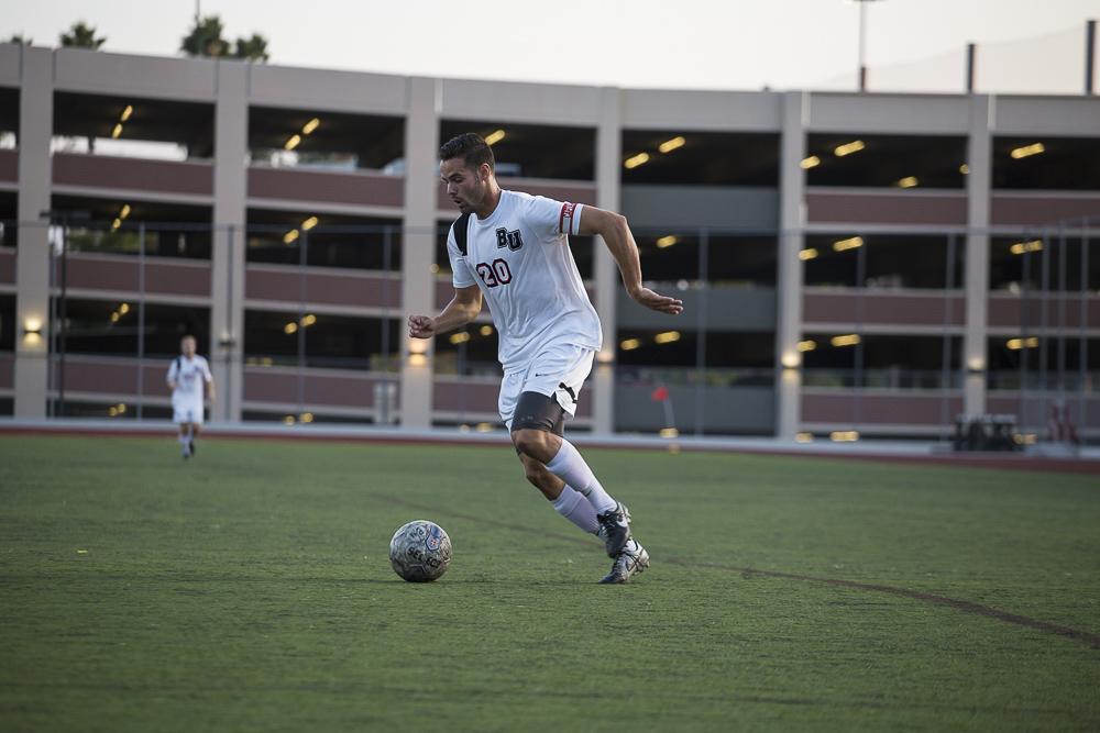 Men's soccer secures conference title
