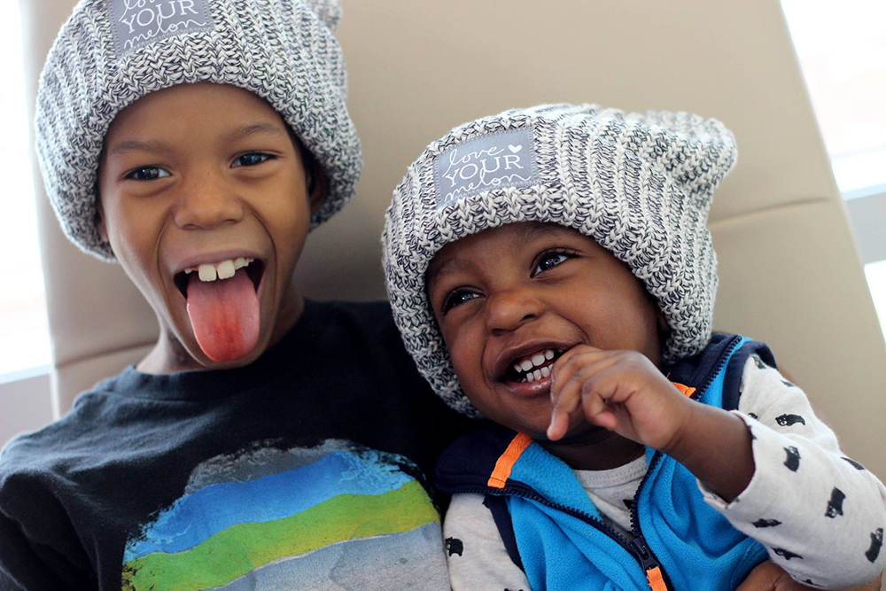 58c70b1689 Hats for cancer. Photo courtesy of Christine Tomlinson