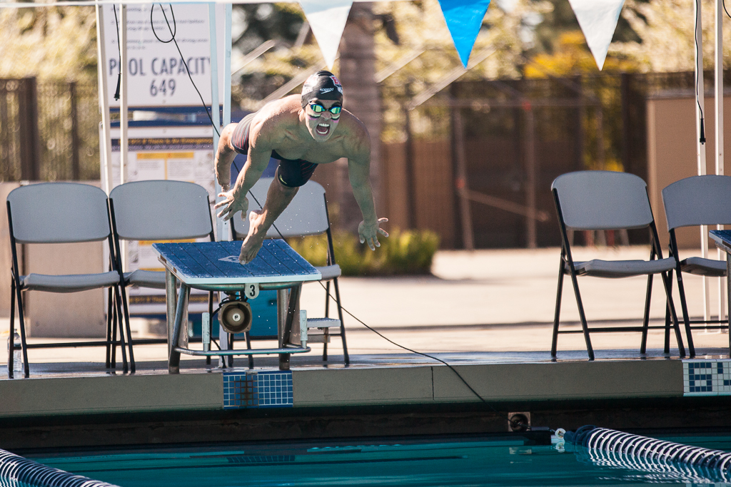 The swim team adds a win to their record and prepares for their upcoming taper meet at University of La Verne. | Melanie Kim/THE CHIMES [file photo]