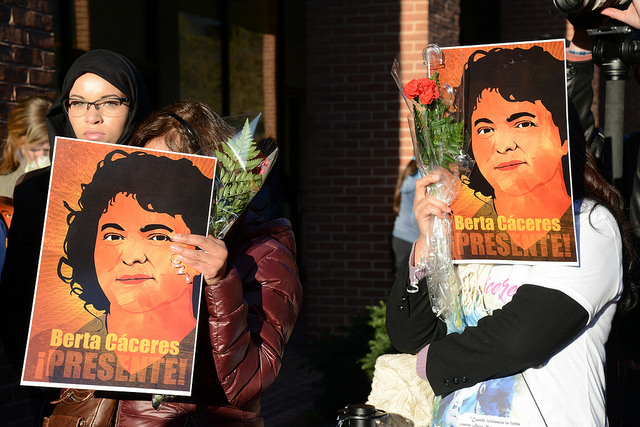 Keep Berta Caceres' fight alive