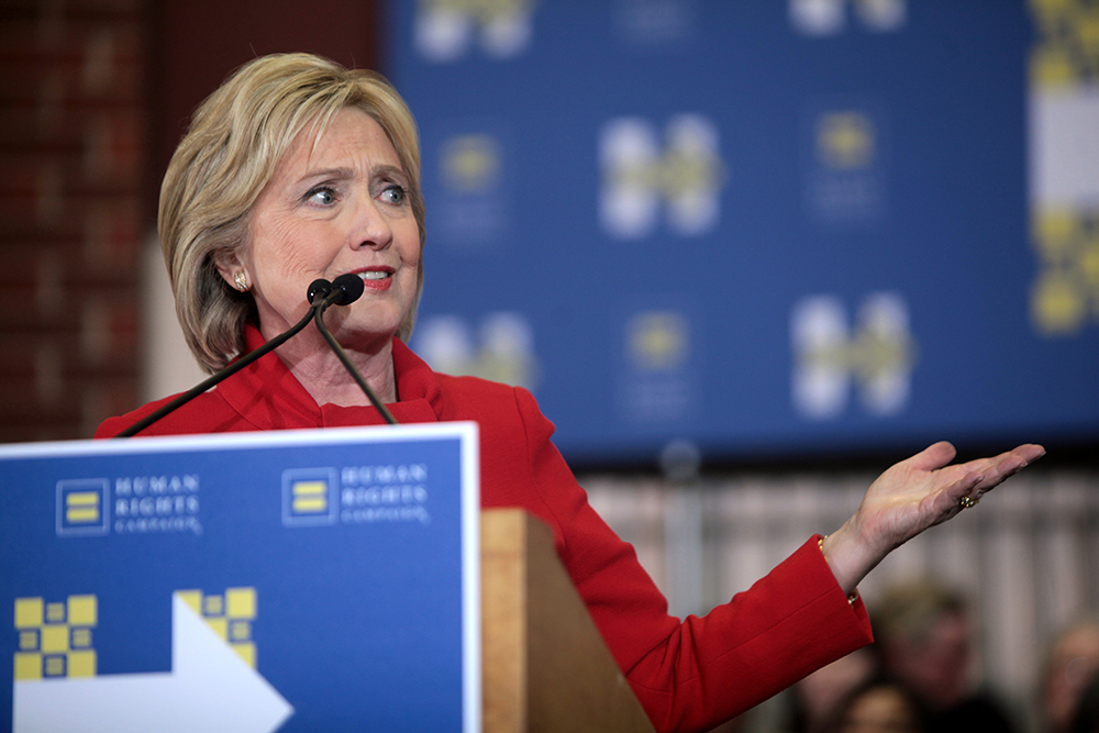 Hillary Clinton refuses to tackle climate change