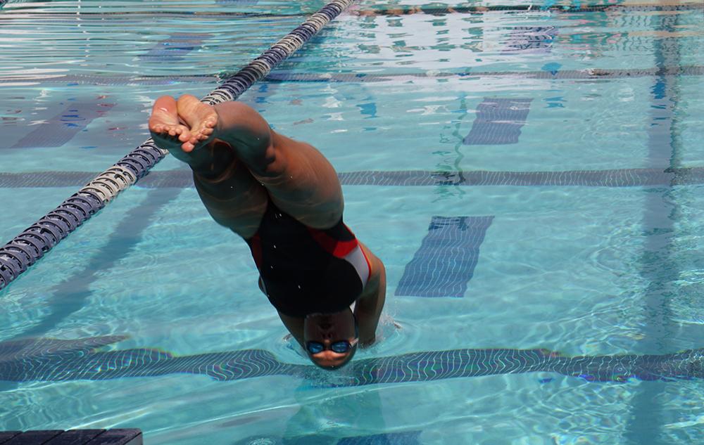 Swim struggles in Azusa