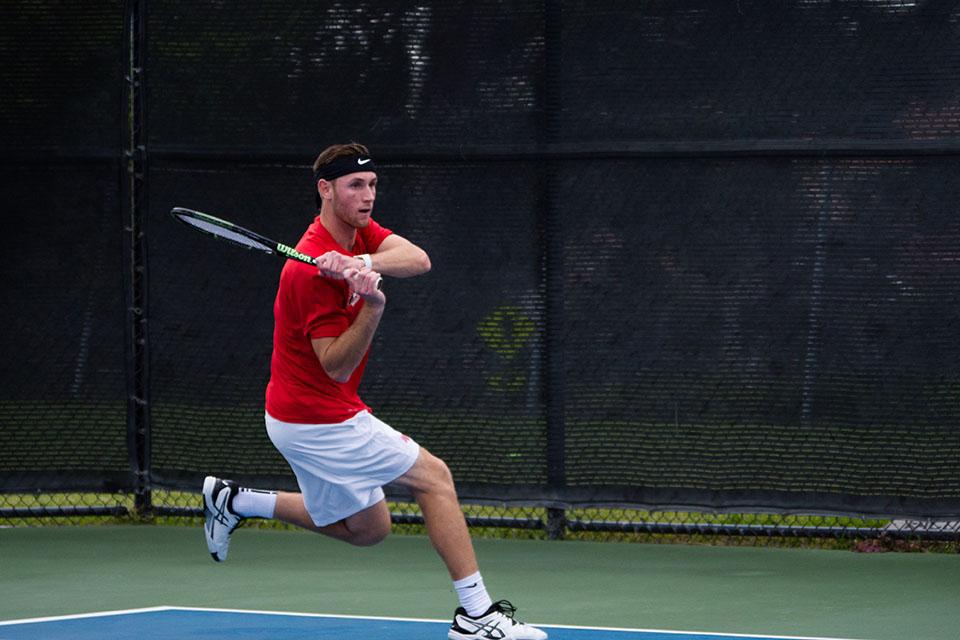 Chimes' Athlete of the Week: Men's Tennis Derek James