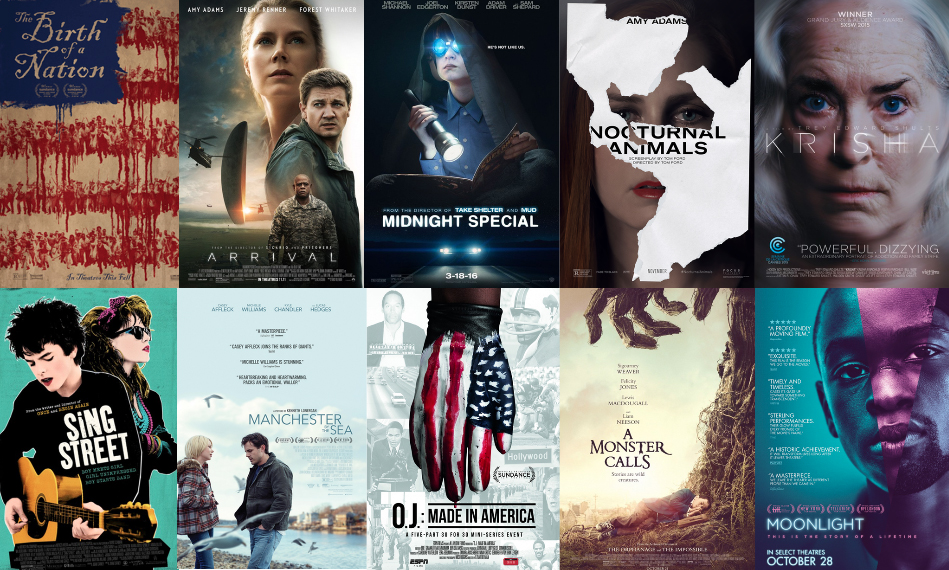 The Chimes' Top 50 Movies of 2016: 10-1