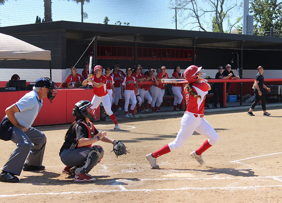 Softball swept again in doubleheader