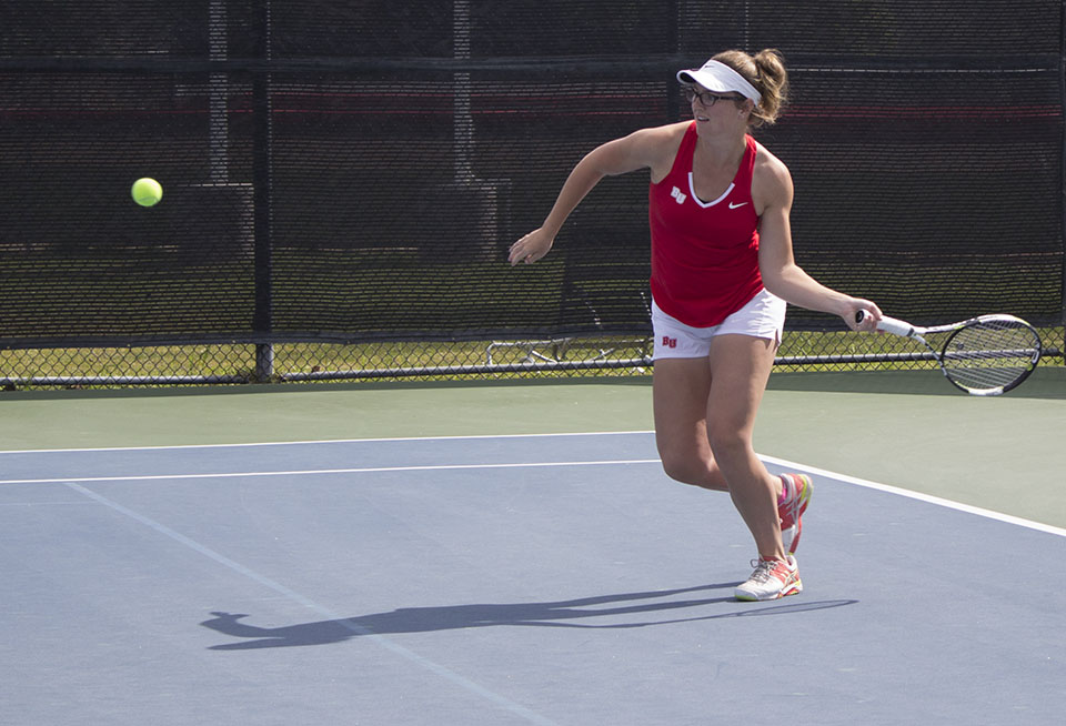 Eagles men and women's tennis take three losses in hard-fought battles