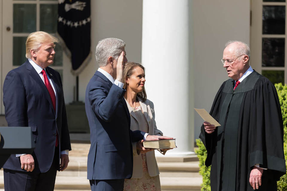 Gorsuch brings new blood to Supreme Court