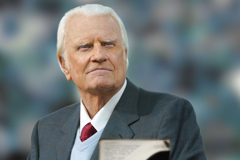 Billy Graham rule proves beneficial for marriage