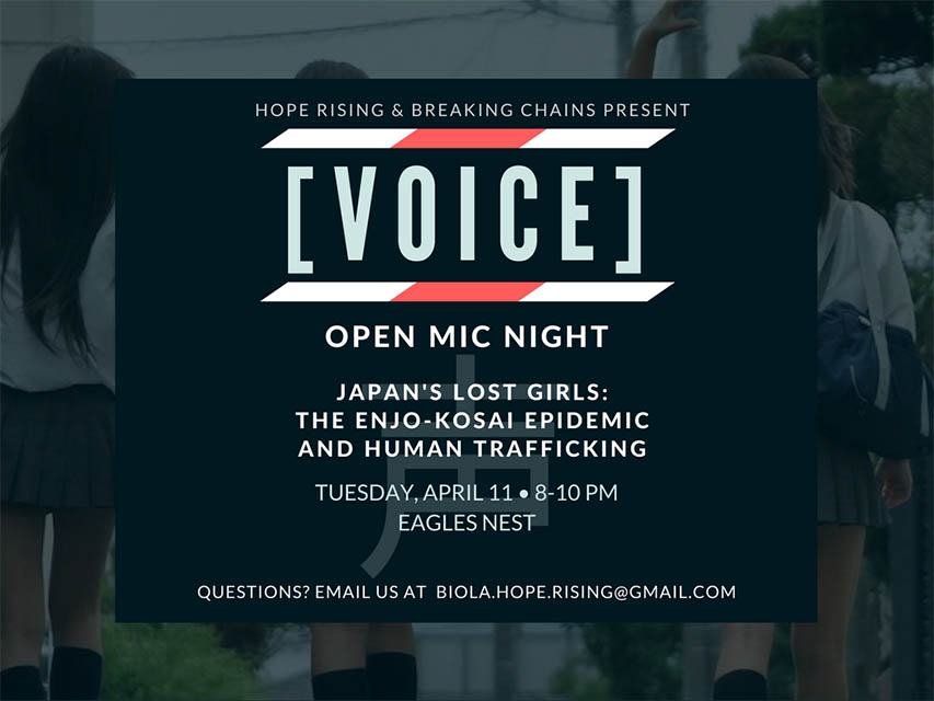 Clubs hold open-mic event