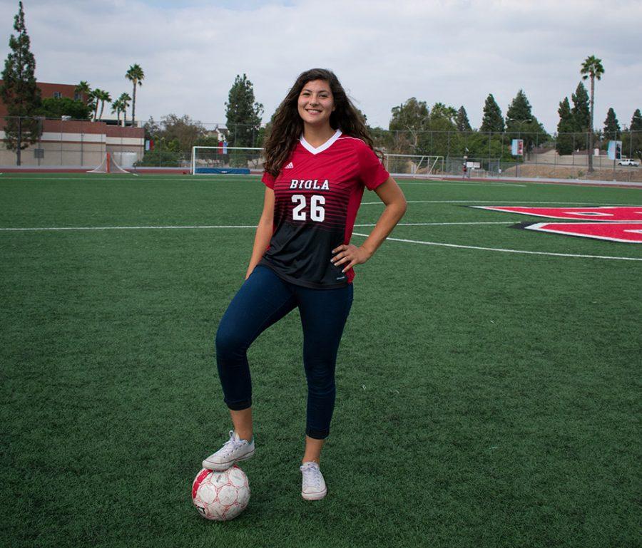 Senior playmaker leads way for Women's Soccer