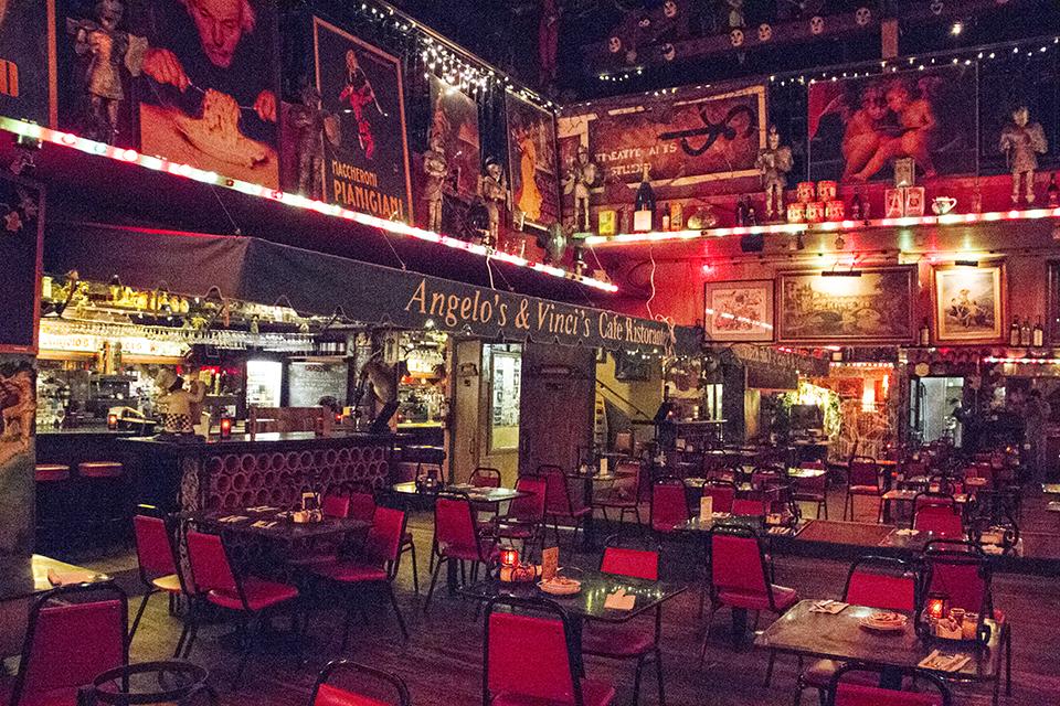 Italian eatery amazes with exceptional decor