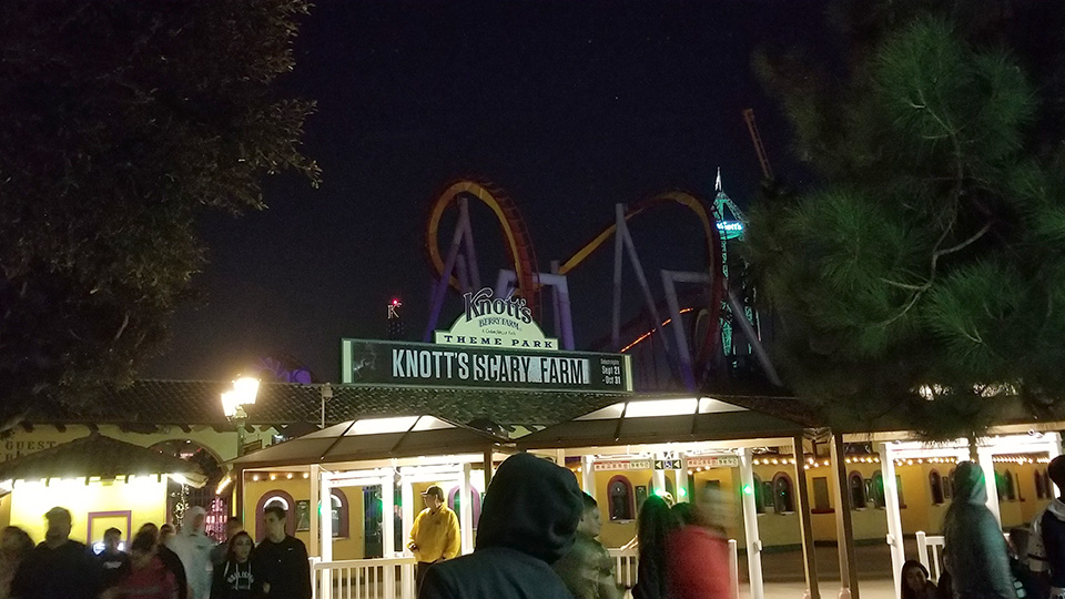 Knott's gets scary after dark