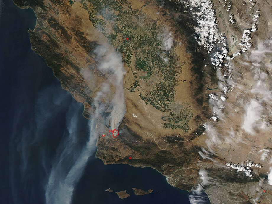 Burnt out: Wildfires sweep California