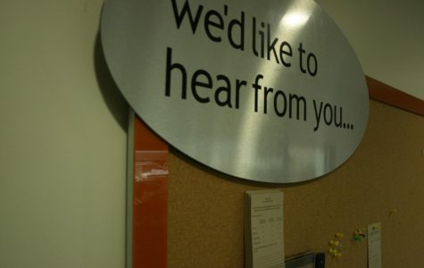 Students can offer feedback to the Cafe staff via the bulletin board, but now they have another option -- voicing complaints directly through AS.