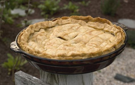 ** FOR USE WITH AP LIFESTYLES ** Apple Roquefort Bacon pie made from a recipe from Ron Silver and Jen Bervin's
