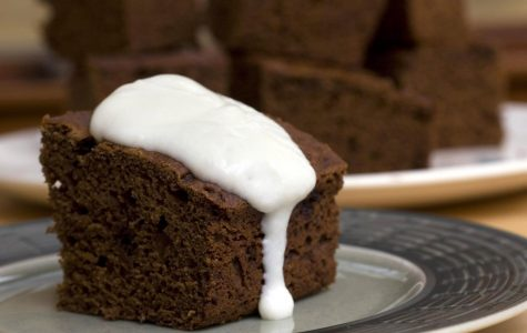 Apple butter is the lower fat but flavor packed secret for this cake. Fruit butters and purees can often cut the fat by as much as half when substituted for butter in baking.