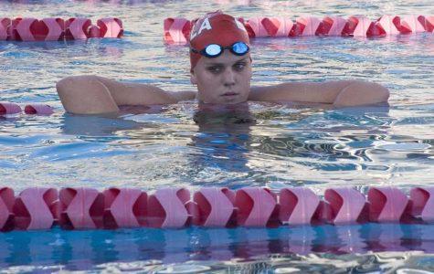 Women's swim team takes forward strokes