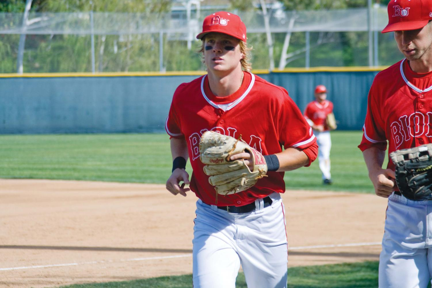 Serving as an integral part of Biola's baseball team, junior Hawkins Gebbers has gained the respect and admiration of his coaches and teammates.  He attributes his drive and work ethic to his family and hometown.
