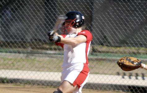 Softball settles for split