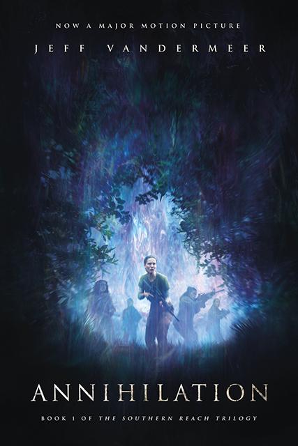 Annihilation movie poster.