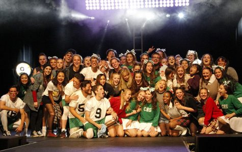 With a Charlie Brown theme, APEX won Mock Rock for the second year in a row.