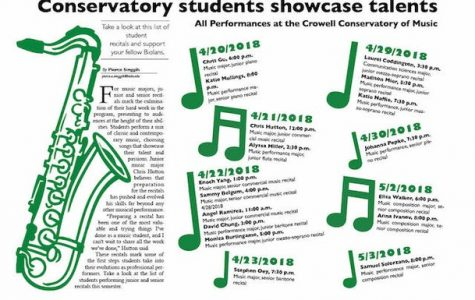 Conservatory students showcase talents