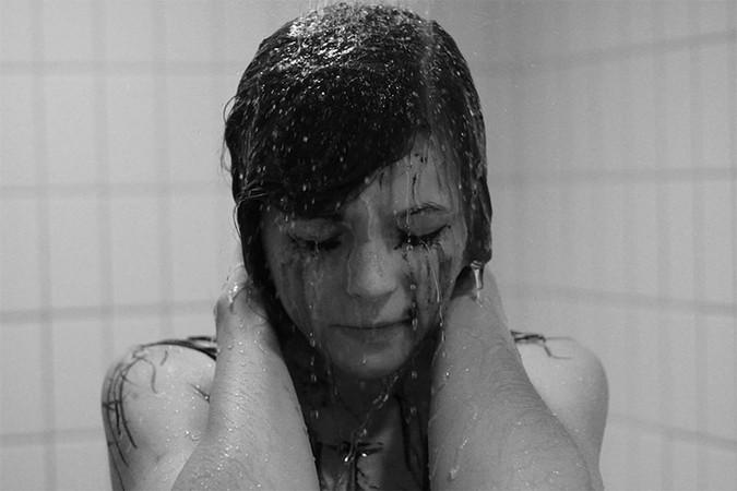 Woman+in+shower