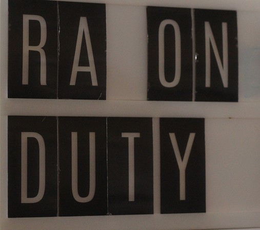 RA on duty