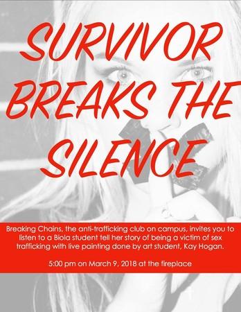 Survivor Breaks the Silence poster