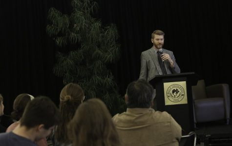 Brett McCracken speaks at inaugural CAM Talks