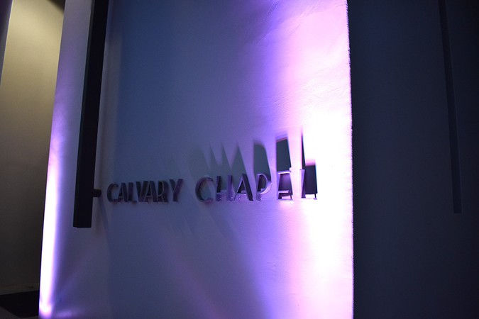 Calvary Chapel will undergo artistic renovations this summer.