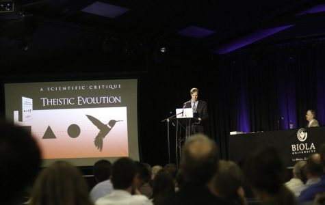 """Did God Need Darwin"" conference draws interest"