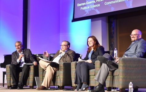 Faculty discuss divide between conservative and liberal ideology