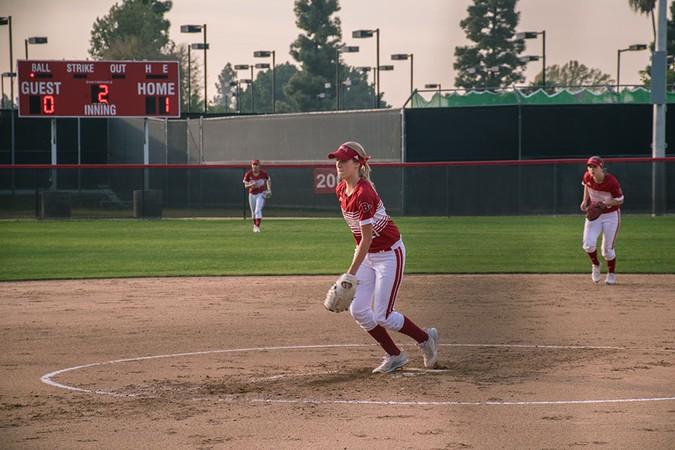 Athlete of the Week: Softball's Terri Van Dagens