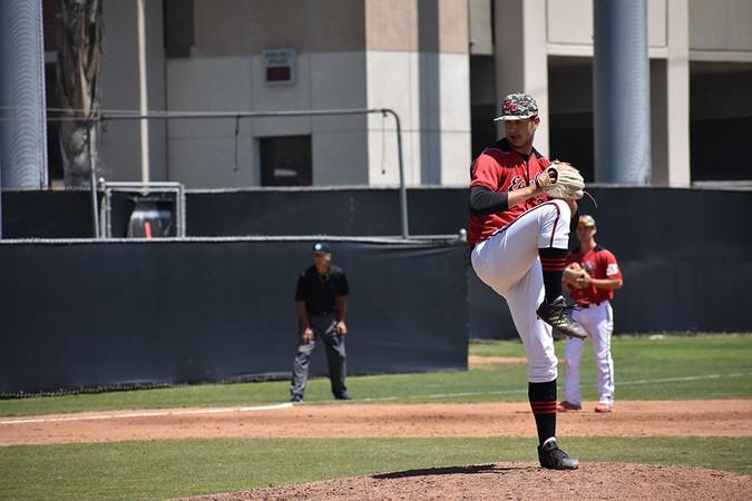 Baseball roars back for series split