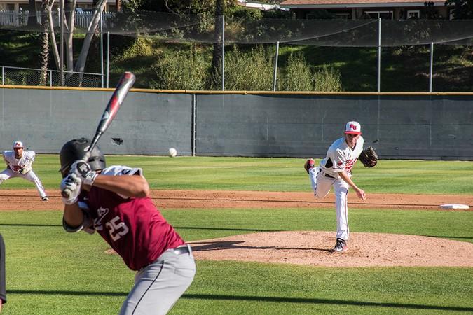 Baseball falters late in Cornerstone Cup opener