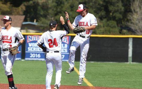 Baseball splits doubleheader and series against Art U