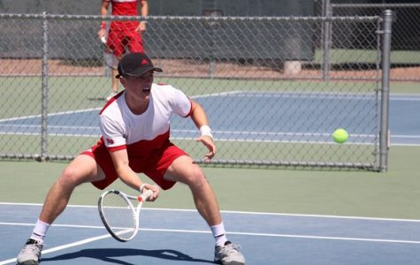 Men's tennis ends season on a high note