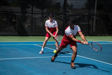 Men's tennis falls short to PLNU