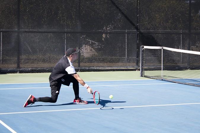 Tennis sweeps Westmont