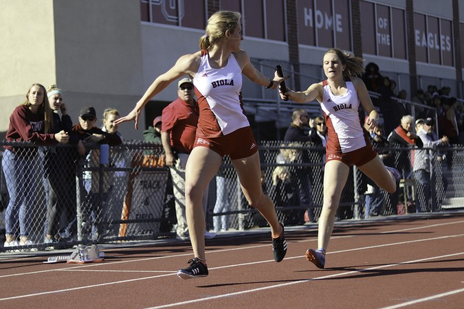 Track and field take multiple first place finishes
