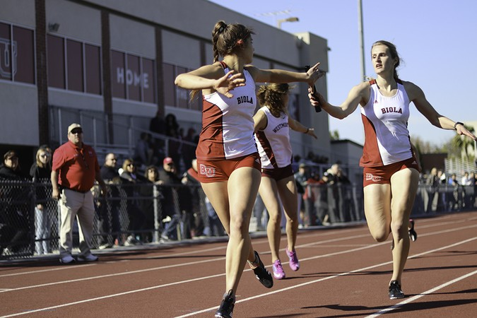 Track and field dominates events with blowout