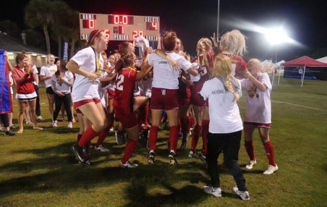 Women's soccer wins NCCAA championship