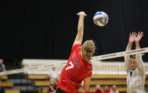 Volleyball swept by top-15 team