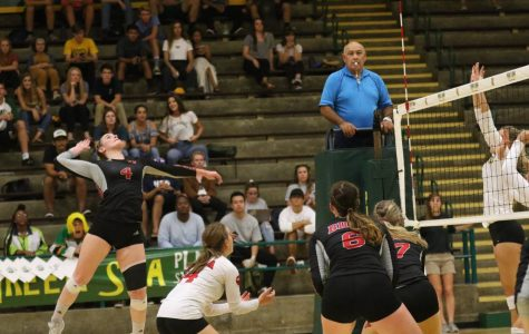 Volleyball loses tough test on the road