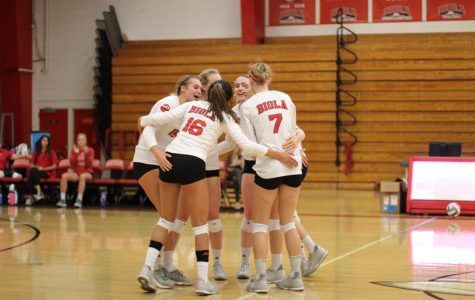 Volleyball heats up for third straight sweep
